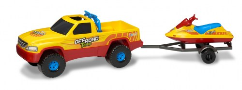 Off-Road-Team-pickup-4x4-c-moto-de-agua
